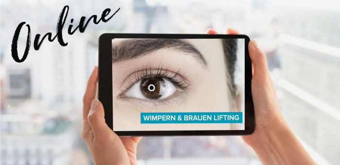 Online Schulung Wimpern & Brauen Lifting