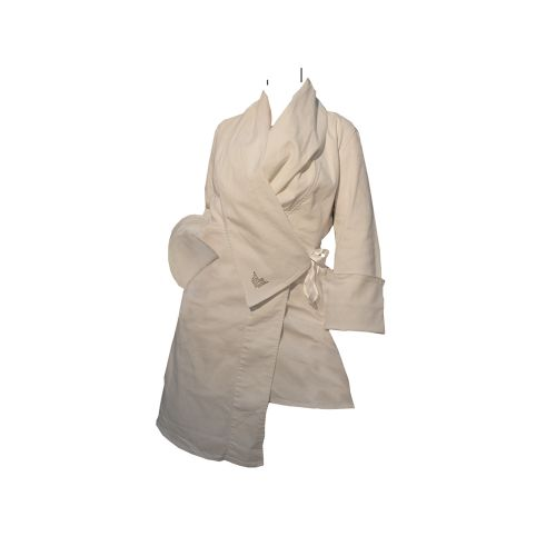 Designer wrap blazer