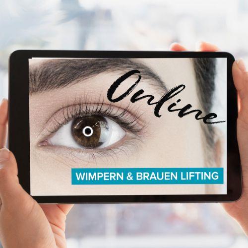 Gratis Onlineschulung Wimpern & Brauen Lifting