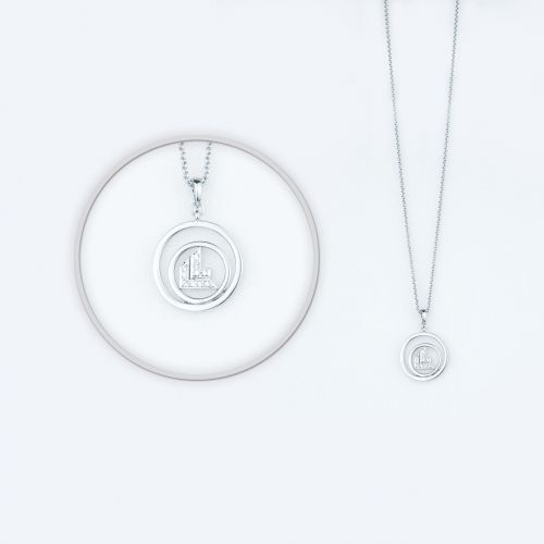 "Halskette + Anhänger ""LL-Emblem"""